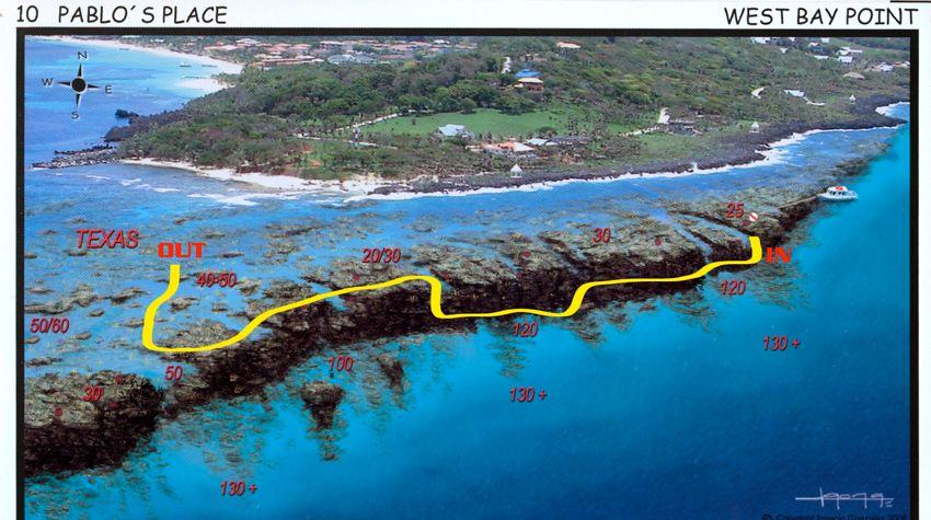 Dive sites paradise divers roatan tgi diving international - Roatan dive sites ...