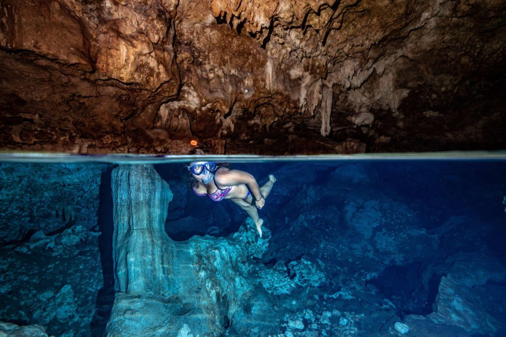 Incredible snorkeling opportunity: Fukuchani Cave